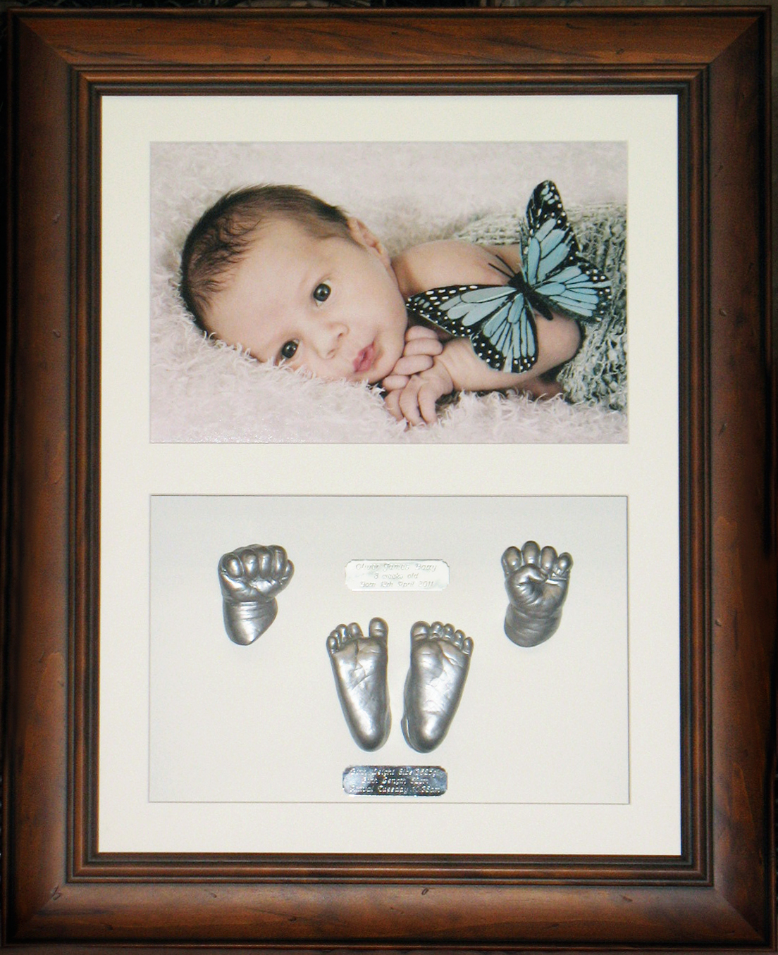 itsy bitsy baby hands & feet sculptures - Photo frames
